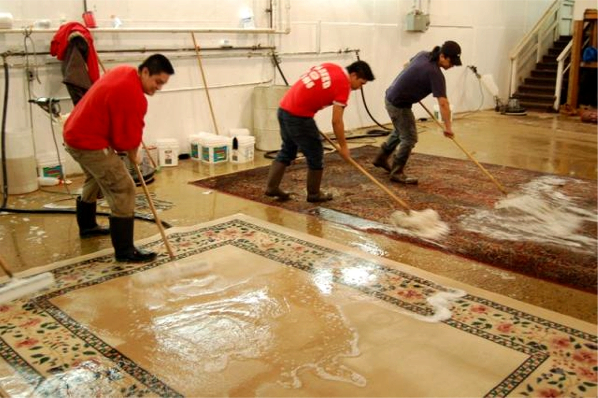Nomads Services Oriental Rug Expertly Cleaned Amp Repaire