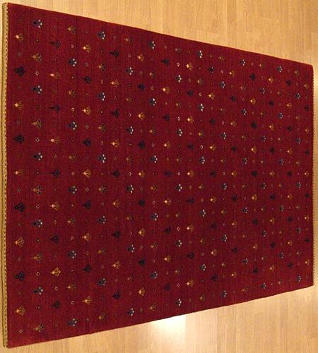 4x6 Handmade Persian Kashkahi Gabeh Fine 1397