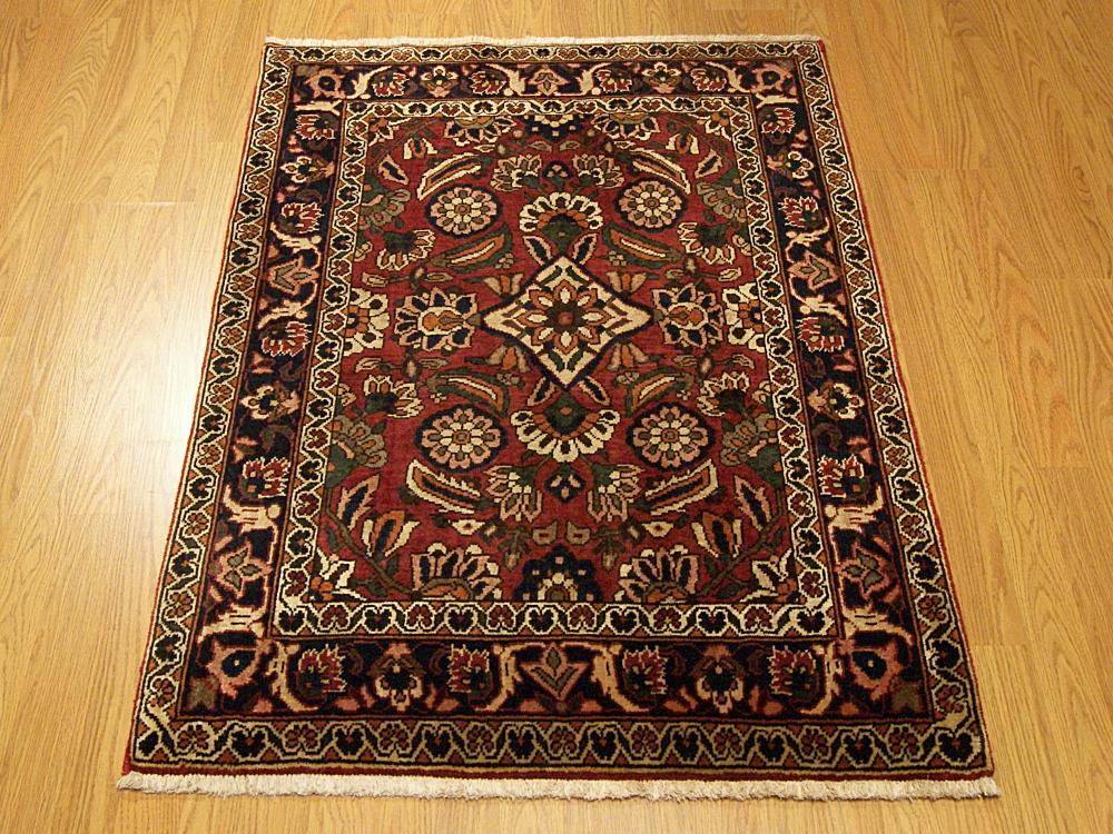 3x4 Beautiful Handmade Persian Bakhtiari Wool Area Rug Ebay
