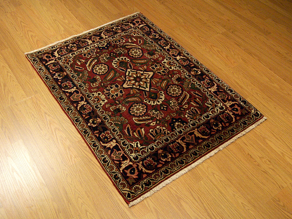 3x4 Beautiful Handmade Persian Bakhtiari Wool Area Rug Ebay