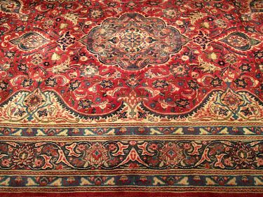 6 6 X 10 6 Handmade Antique 1930s Persian Kashan Wool Rug